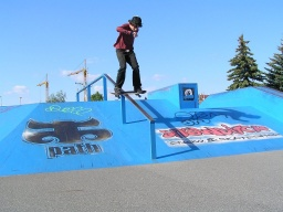 Jerry - Bs Boardslide na velkym