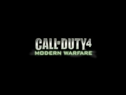 Call of Duty 4 moderm warfare