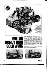 Motor Hondy Gold wing