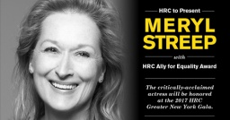 Meryl Streep-Ally for Equality Award 2017