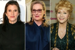 Carrie Fisher, Meryl Streep, Debbie Reynolds