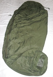 1x Olive Lightweight Patrol Sleeping Bag - top stav = 1190Kč/ks