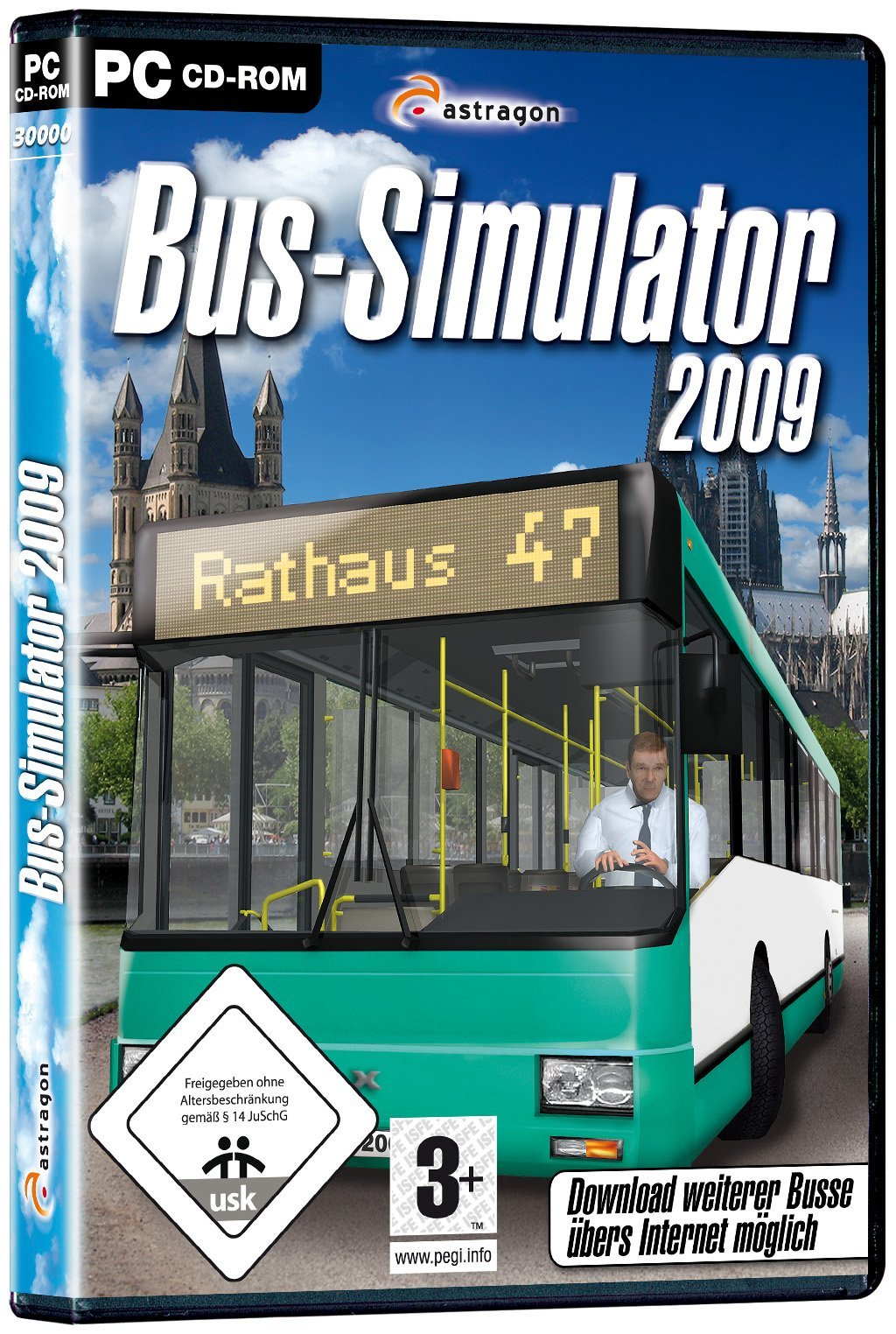 OBAL na Bus Simulator 2009