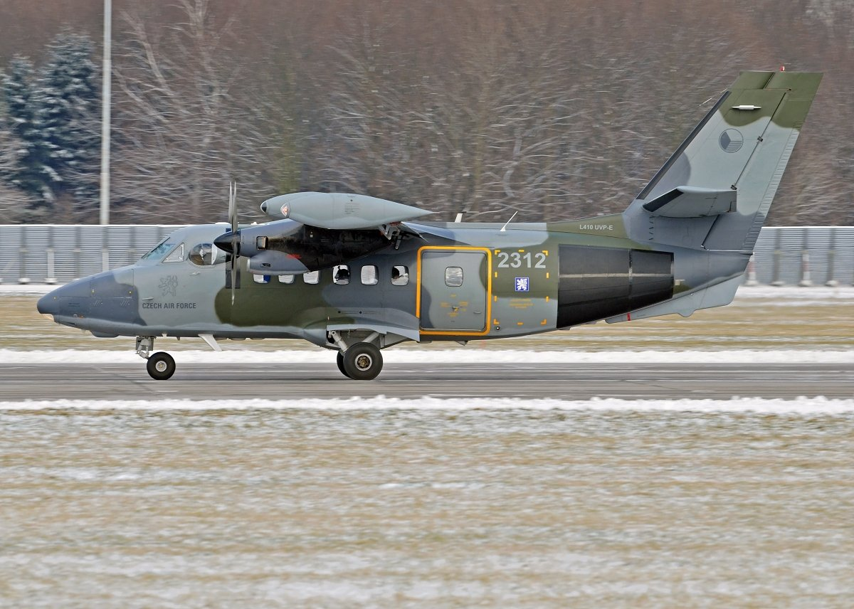 L410UVP-E14 Czech Air Force 2312