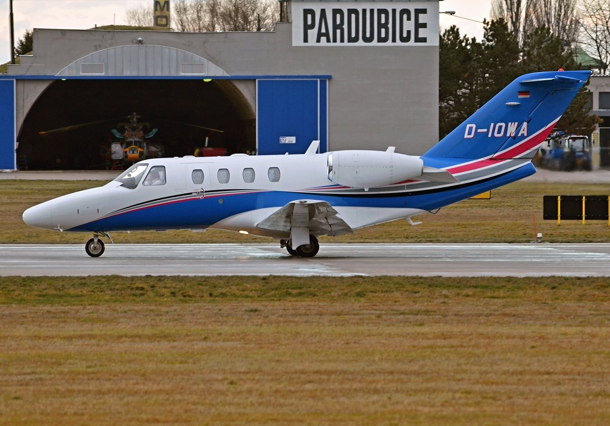 Cessna 525  Private  D-IOWA
