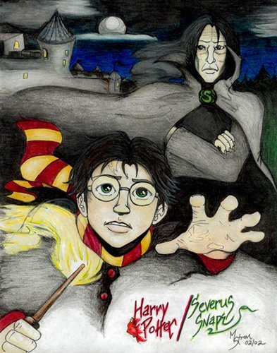 Harry Potter a Severus Snape